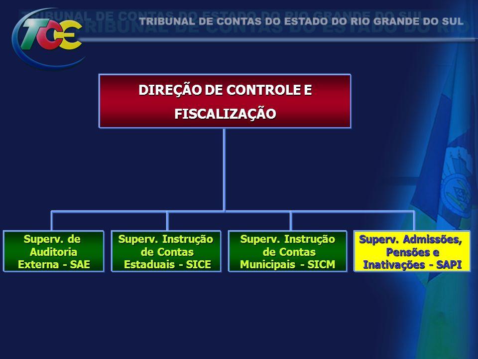 DIREÇÃO DE CONTROLE E FISCALIZAÇÃO