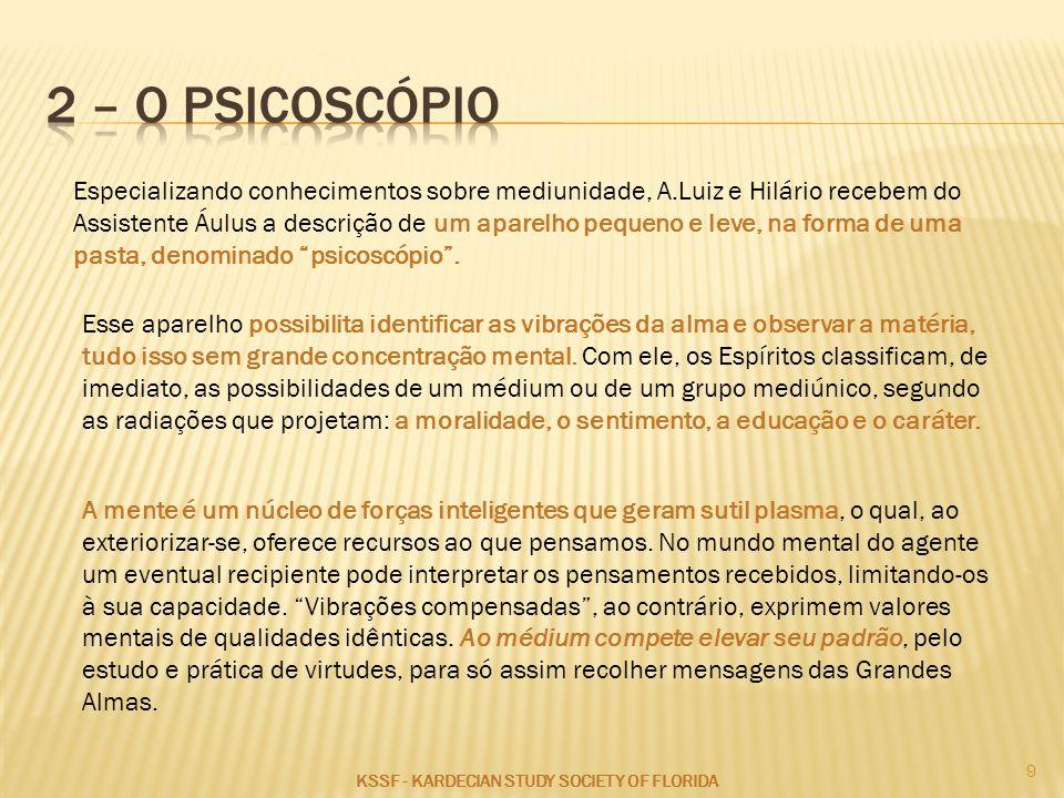 2 – O PSICOSCÓPIO