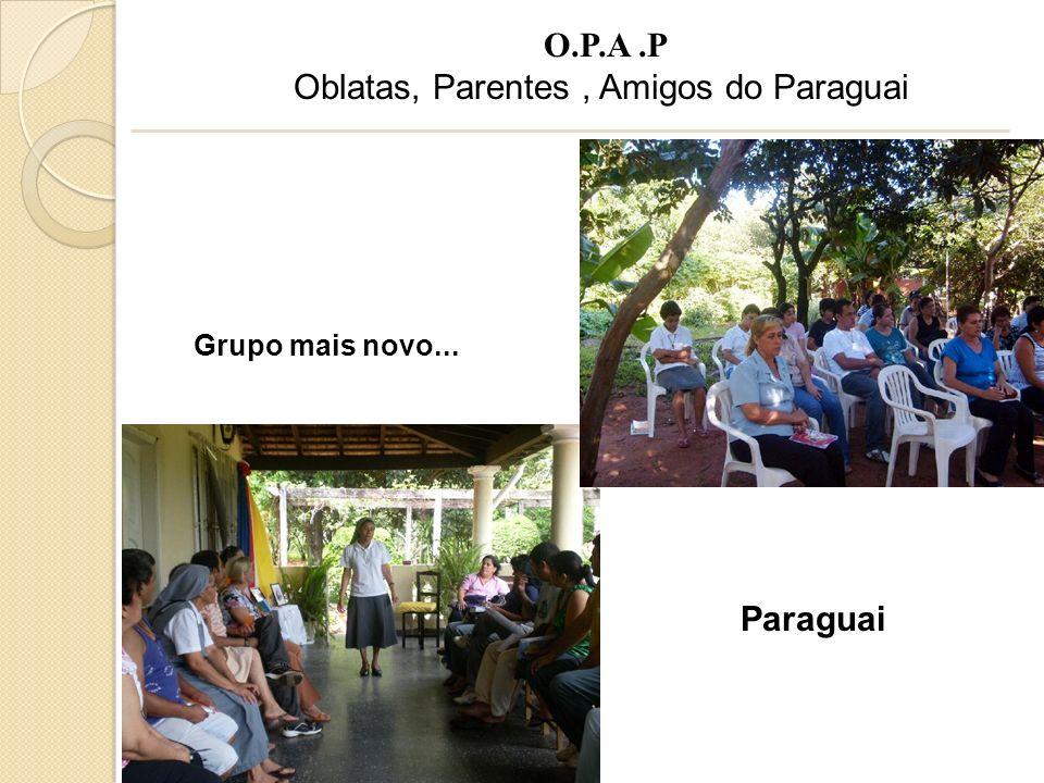 Oblatas, Parentes , Amigos do Paraguai