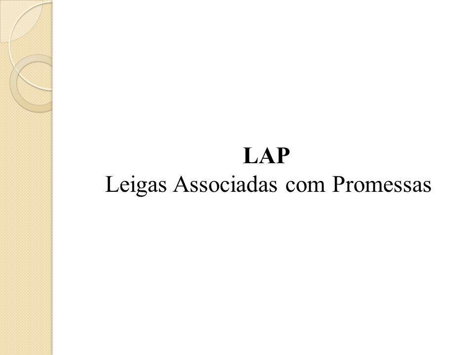 Leigas Associadas com Promessas