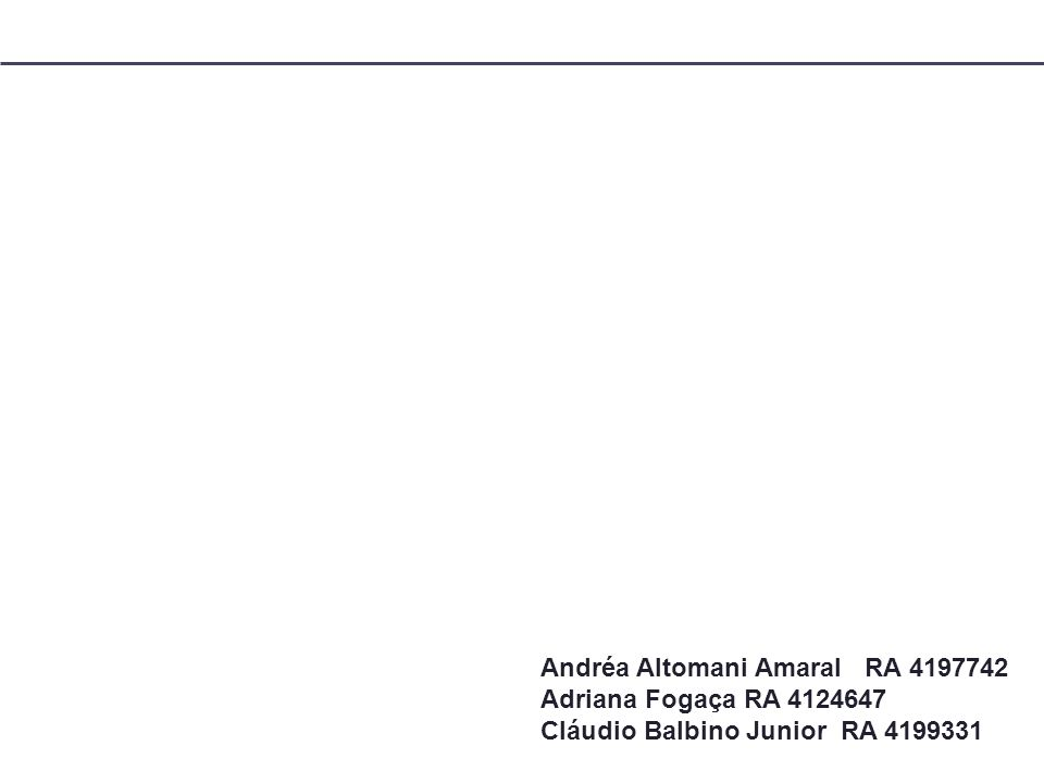 Andréa Altomani Amaral RA 4197742