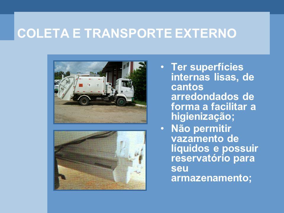 COLETA E TRANSPORTE EXTERNO