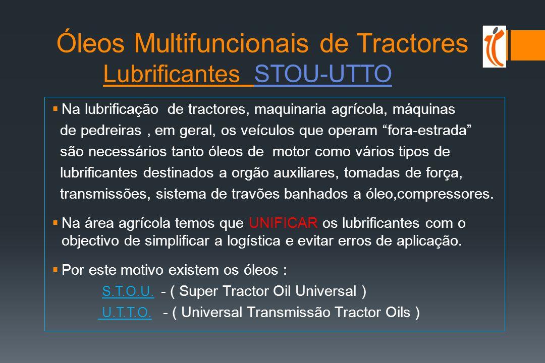 Óleos Multifuncionais de Tractores Lubrificantes STOU-UTTO