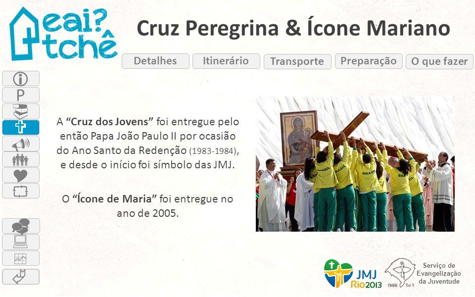 Cruz Peregrina & Ícone Mariano