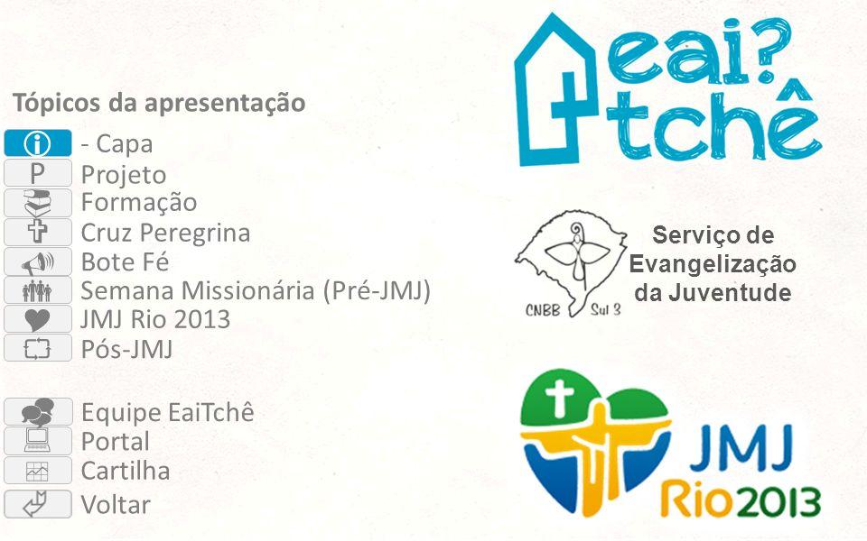  P          Tópicos da apresentação - Capa Projeto Formação