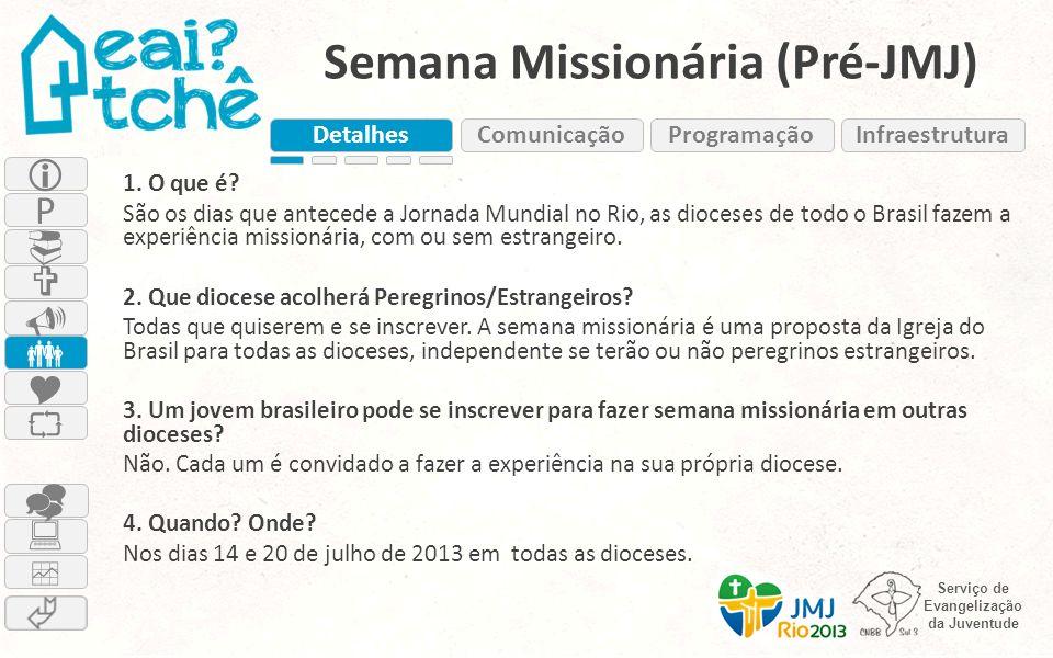 Semana Missionária (Pré-JMJ)