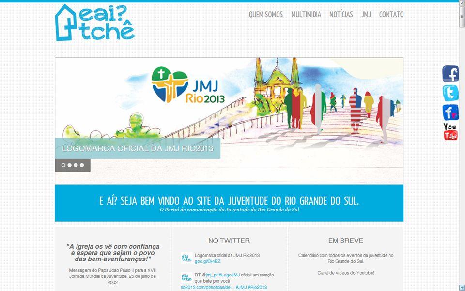 Portal EaiTchê Serviço de Evangelização da Juventude