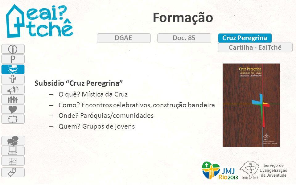 Formação  P          Subsídio Cruz Peregrina DGAE Doc. 85