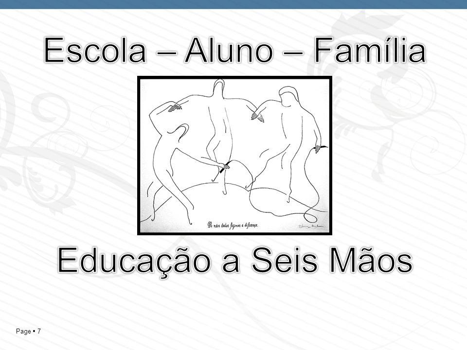 Escola – Aluno – Família