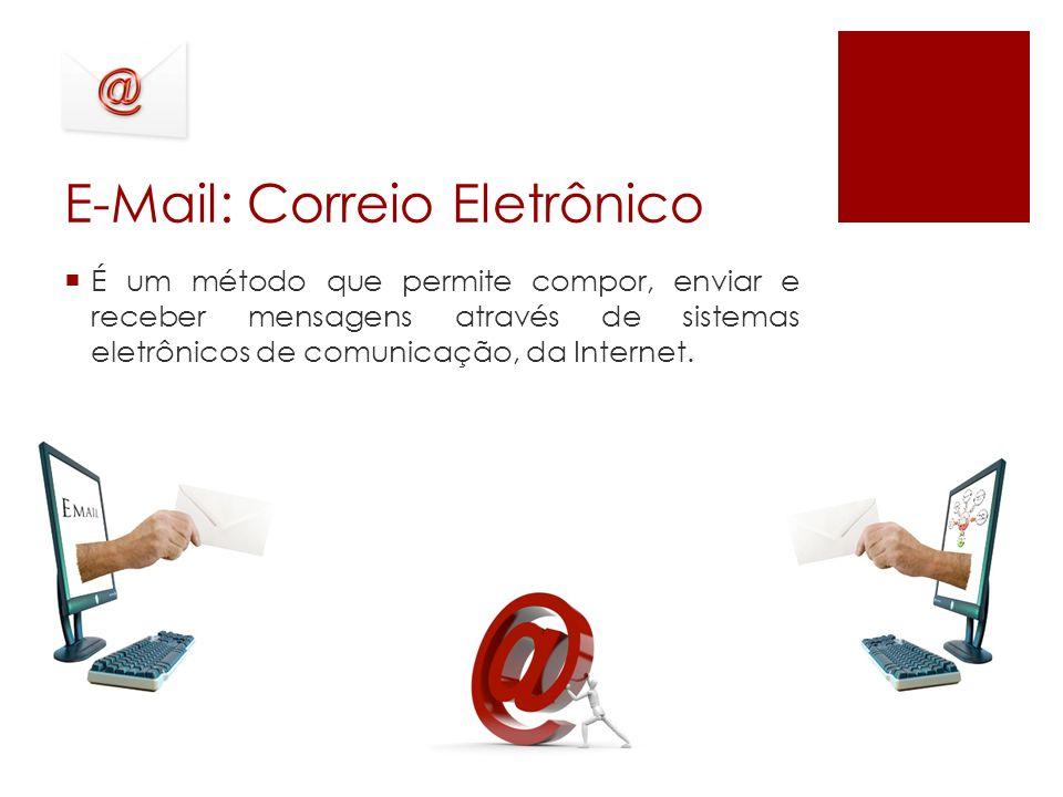 E-Mail: Correio Eletrônico