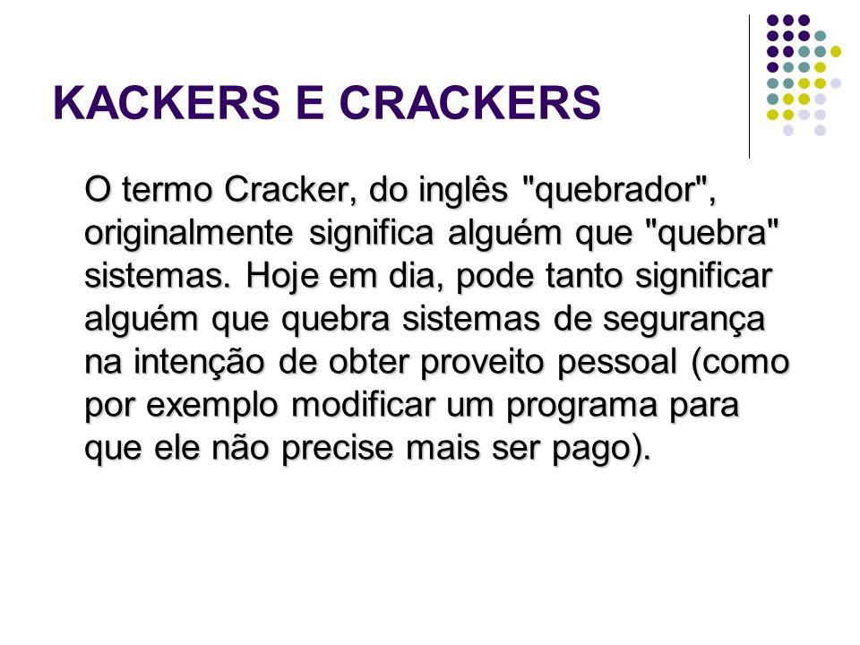 KACKERS E CRACKERS