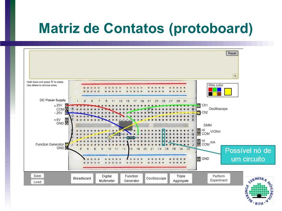 Matriz de Contatos (protoboard)