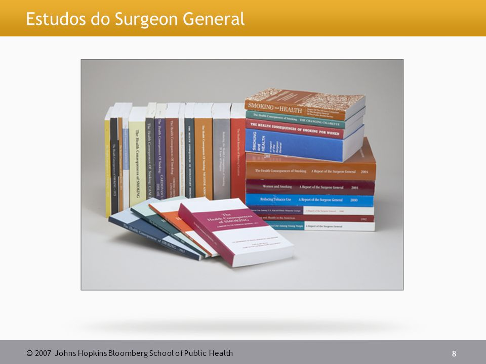 Estudos do Surgeon General