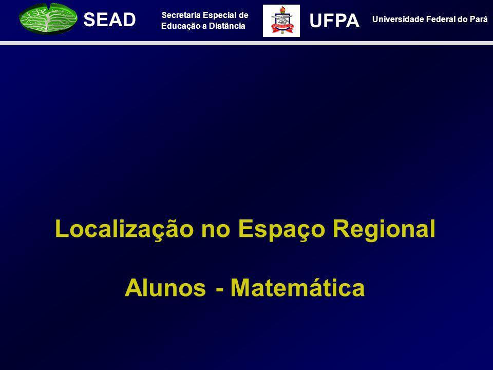 Localização no Espaço Regional