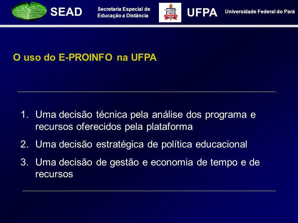 O uso do E-PROINFO na UFPA
