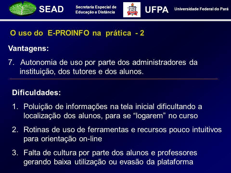 O uso do E-PROINFO na prática - 2