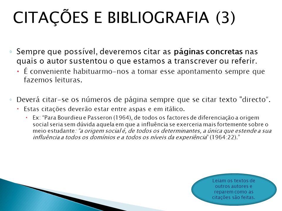 CITAÇÕES E BIBLIOGRAFIA (3)