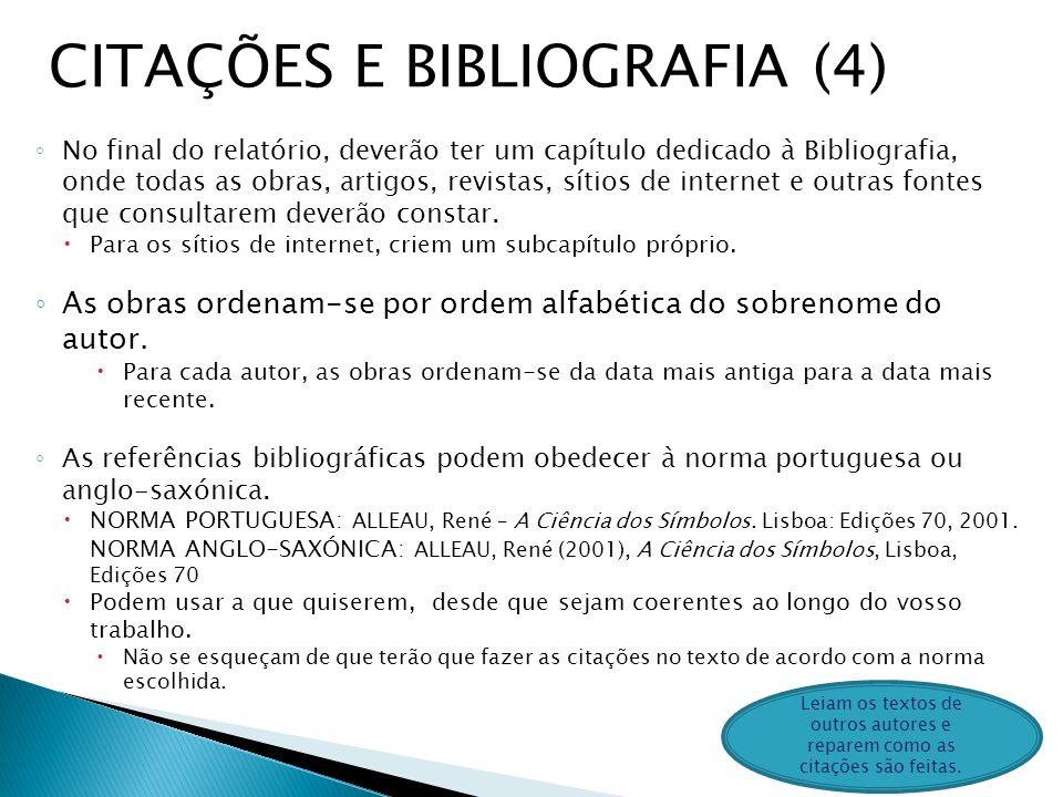 CITAÇÕES E BIBLIOGRAFIA (4)