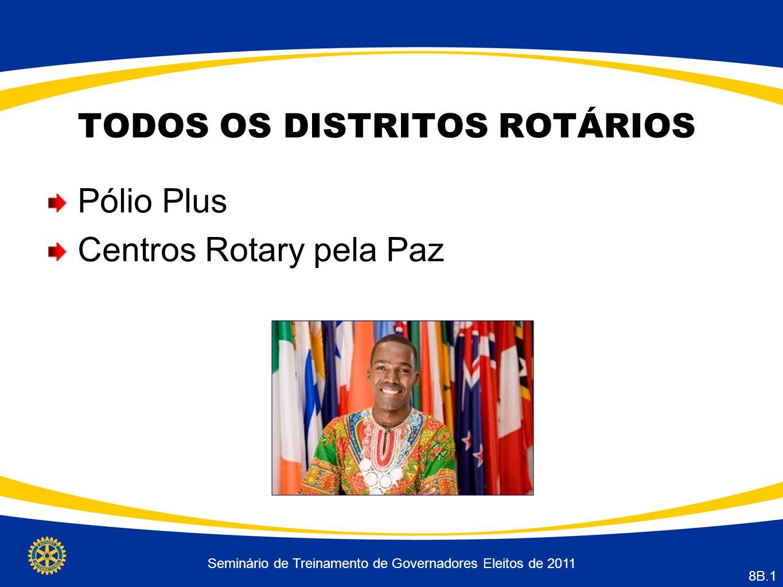 TODOS OS DISTRITOS ROTÁRIOS