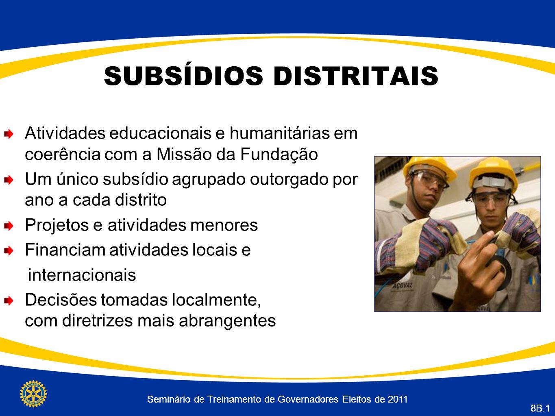 Seminário de Treinamento de Governadores Eleitos de 2011
