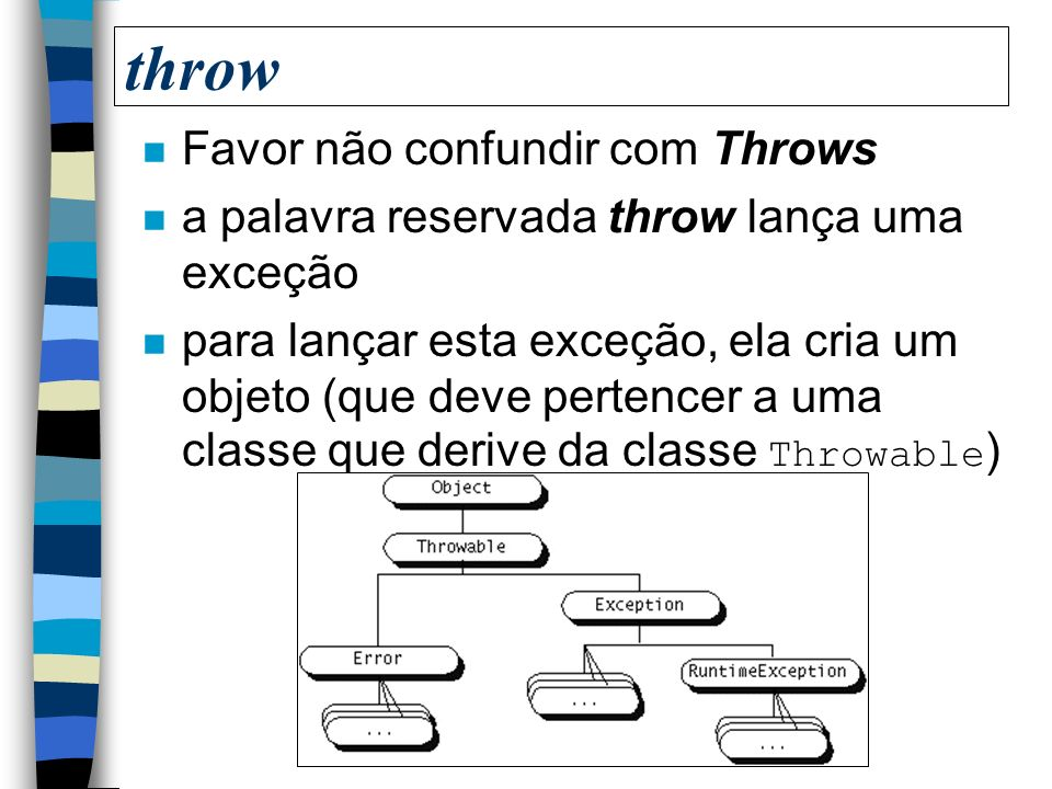 throw Favor não confundir com Throws
