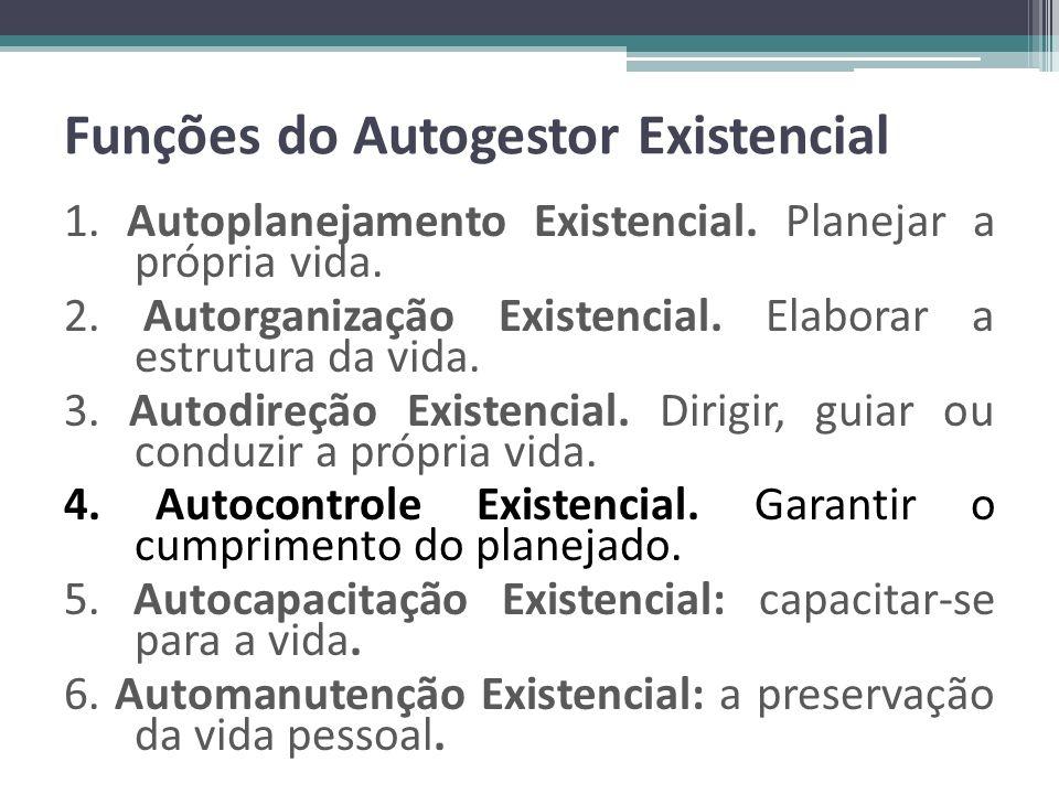 Funções do Autogestor Existencial
