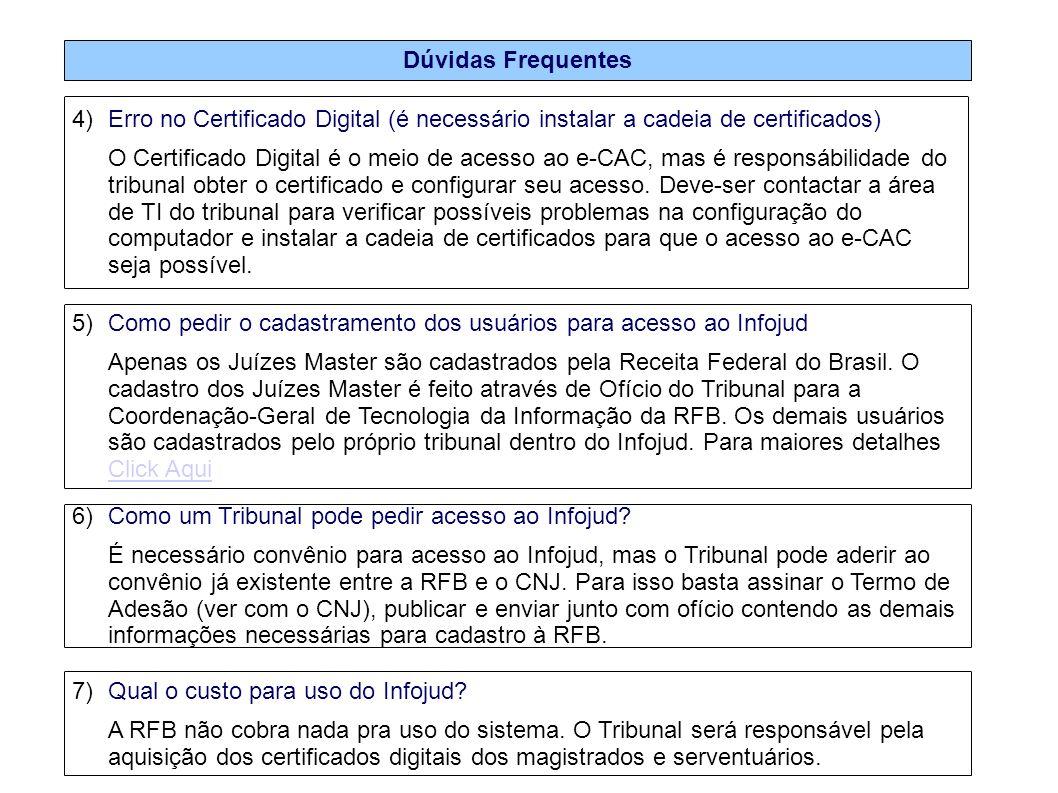 Dúvidas Frequentes Erro no Certificado Digital (é necessário instalar a cadeia de certificados)