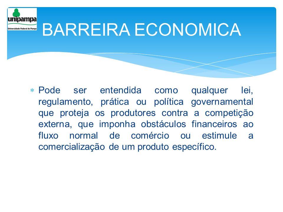 BARREIRA ECONOMICA