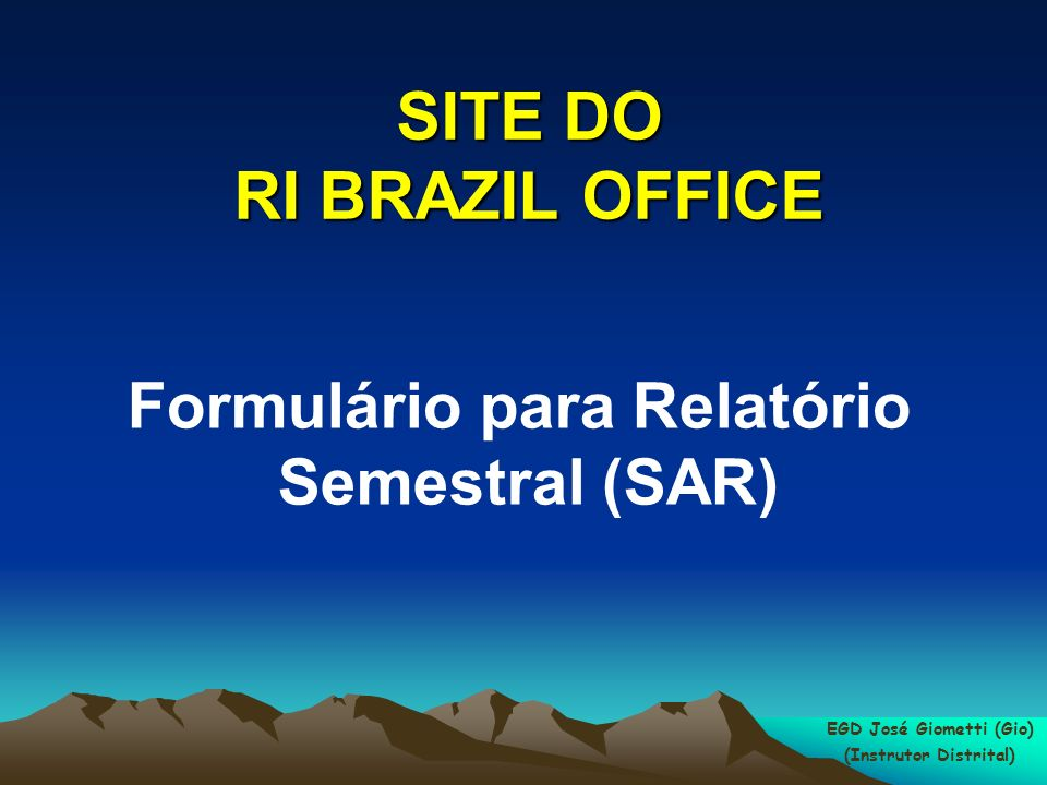 SITE DO RI BRAZIL OFFICE