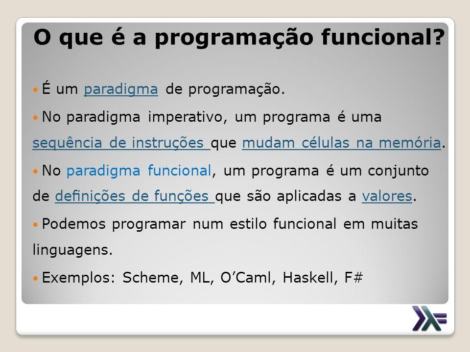 O que é a programação funcional