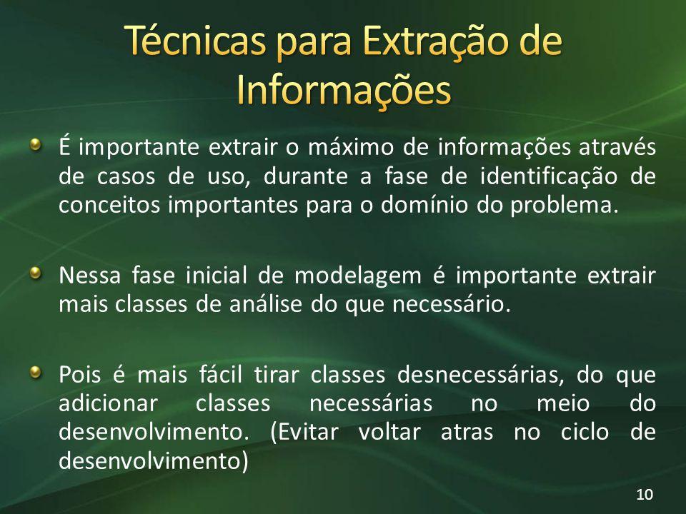 Técnicas para Extração de Informações