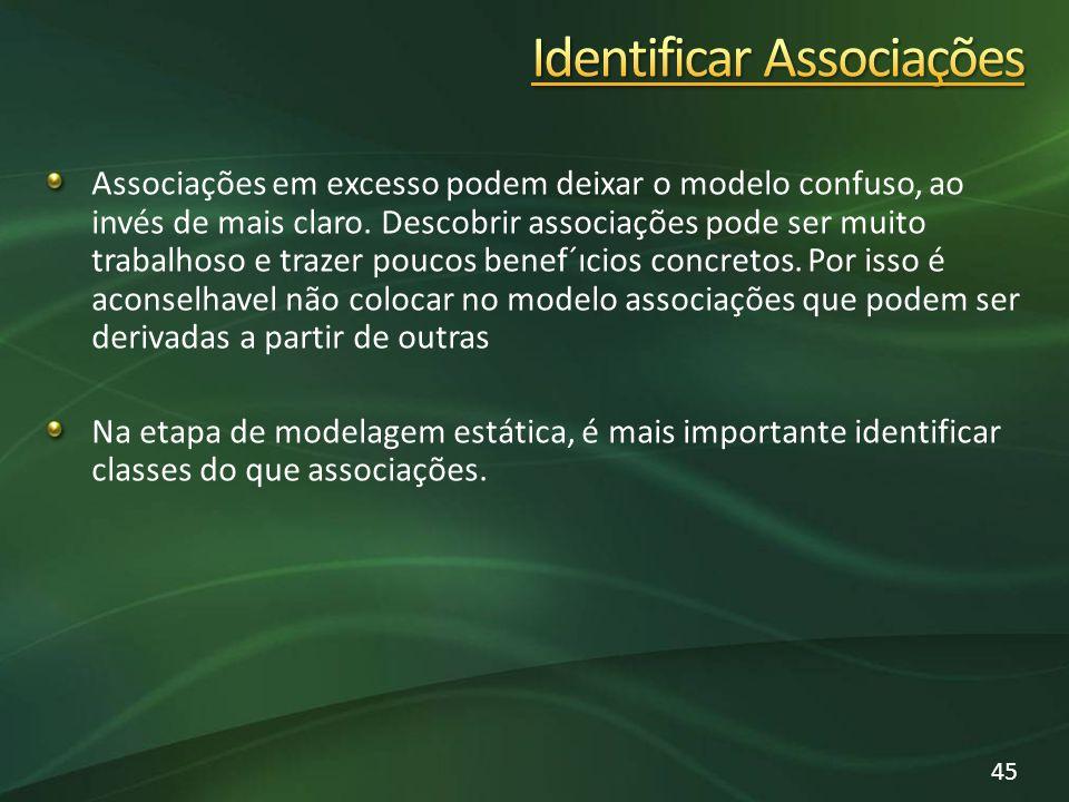 Identificar Associações