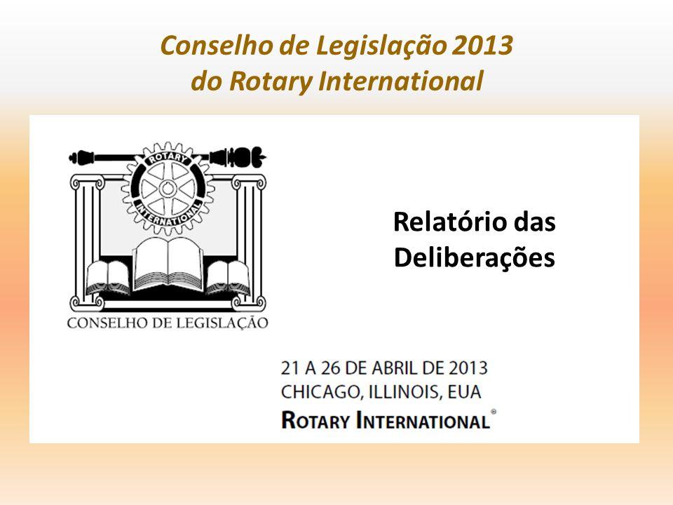 Conselho de Legislação 2013 do Rotary International