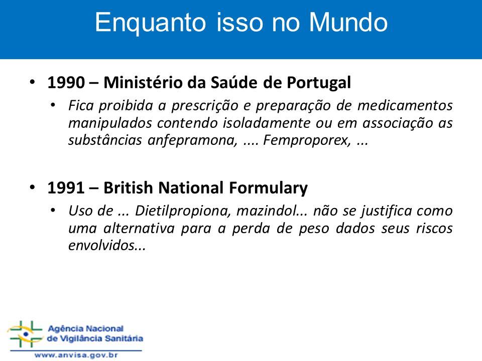 Enquanto isso no Mundo 1990 – Ministério da Saúde de Portugal
