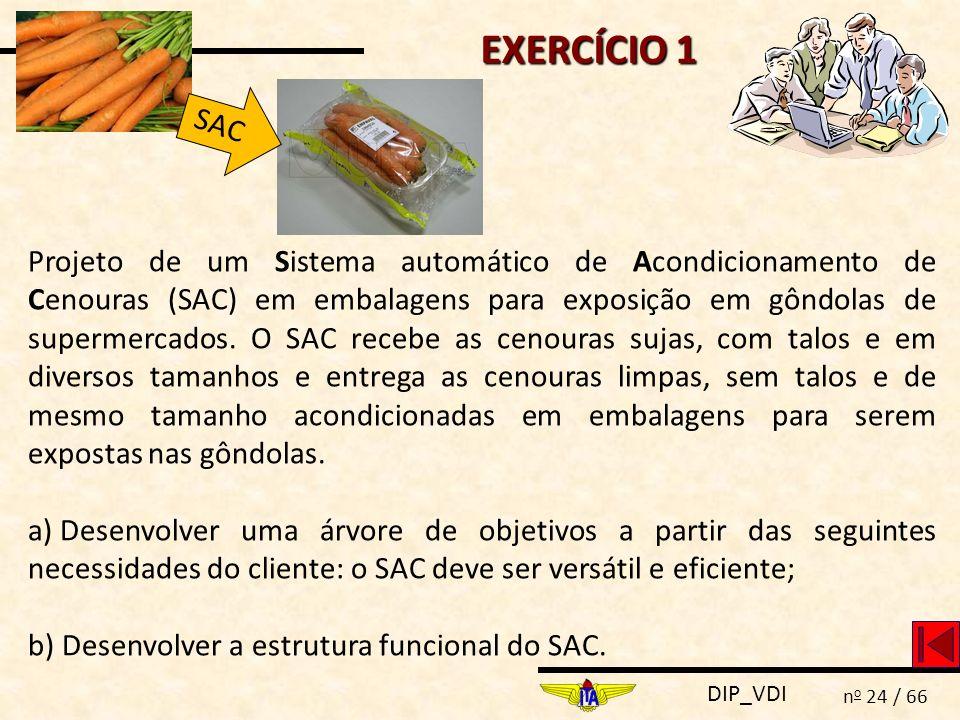 EXERCÍCIO 1 SAC.