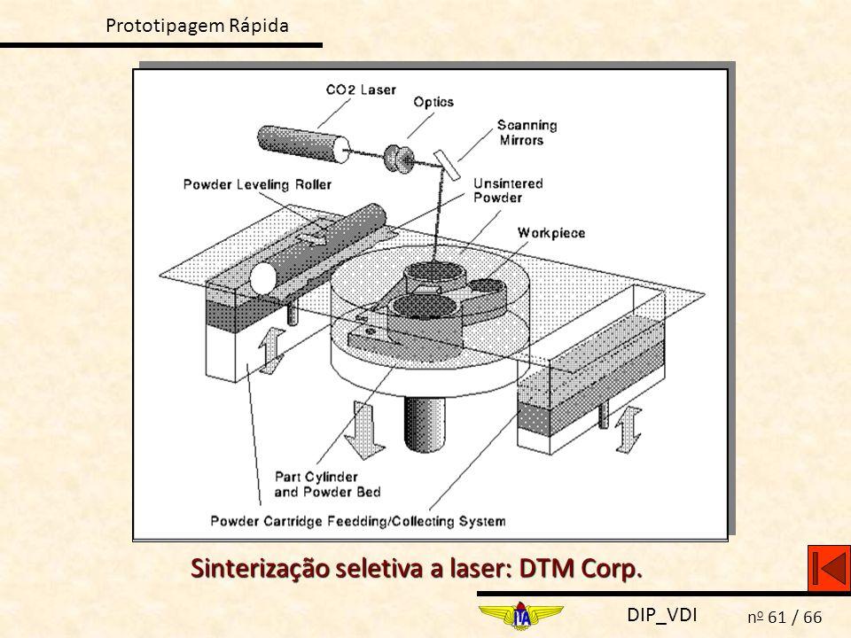 Sinterização seletiva a laser: DTM Corp.