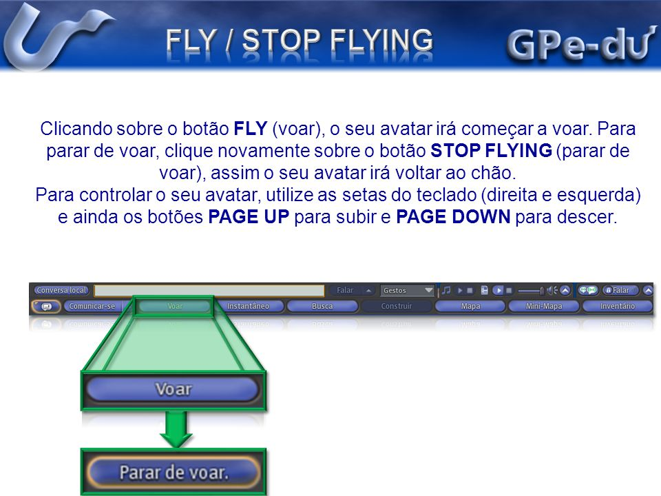 FLY / STOP FLYING