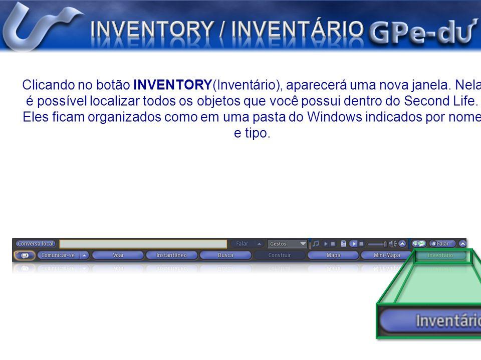 INVENTORY / INVENTÁRIO