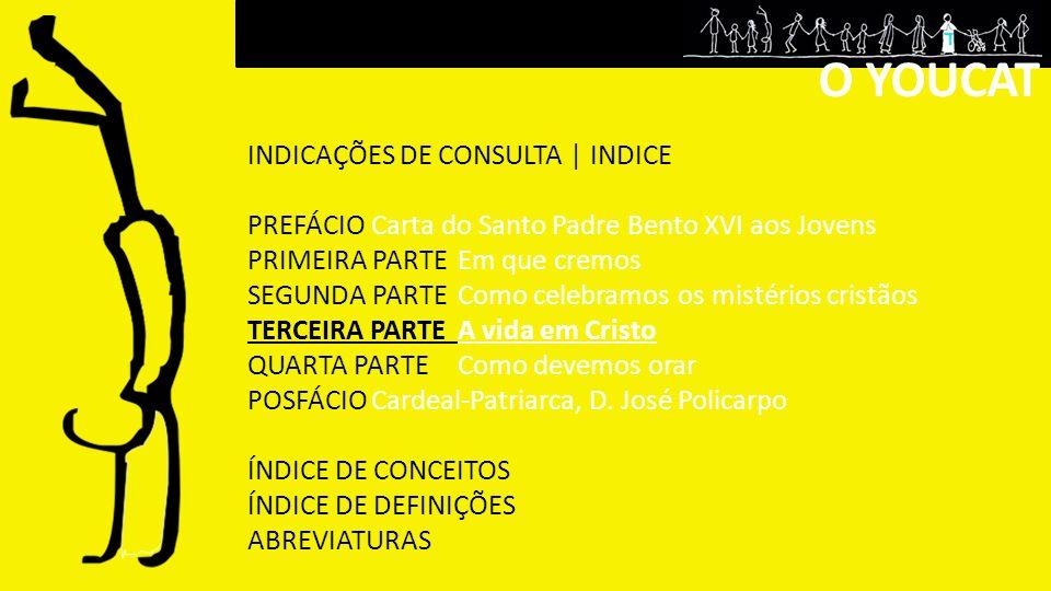 O YOUCAT INDICAÇÕES DE CONSULTA | INDICE