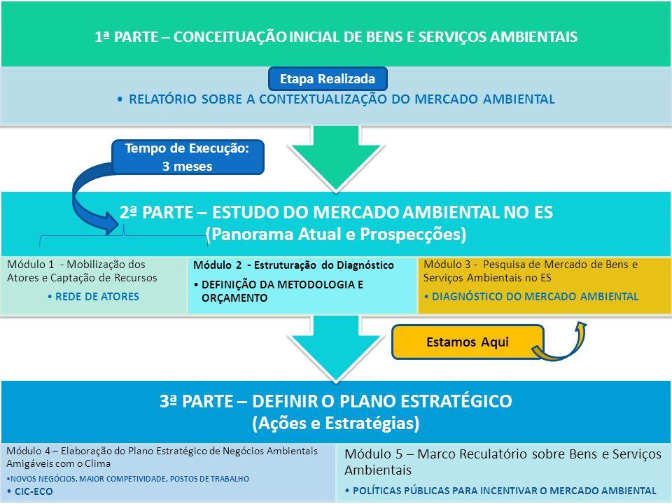 1ª PARTE – CONCEITUAÇÃO INICIAL DE BENS E SERVIÇOS AMBIENTAIS
