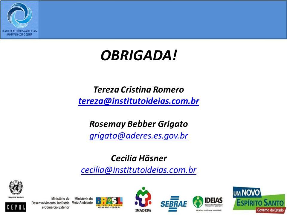 Tereza Cristina Romero Rosemay Bebber Grigato