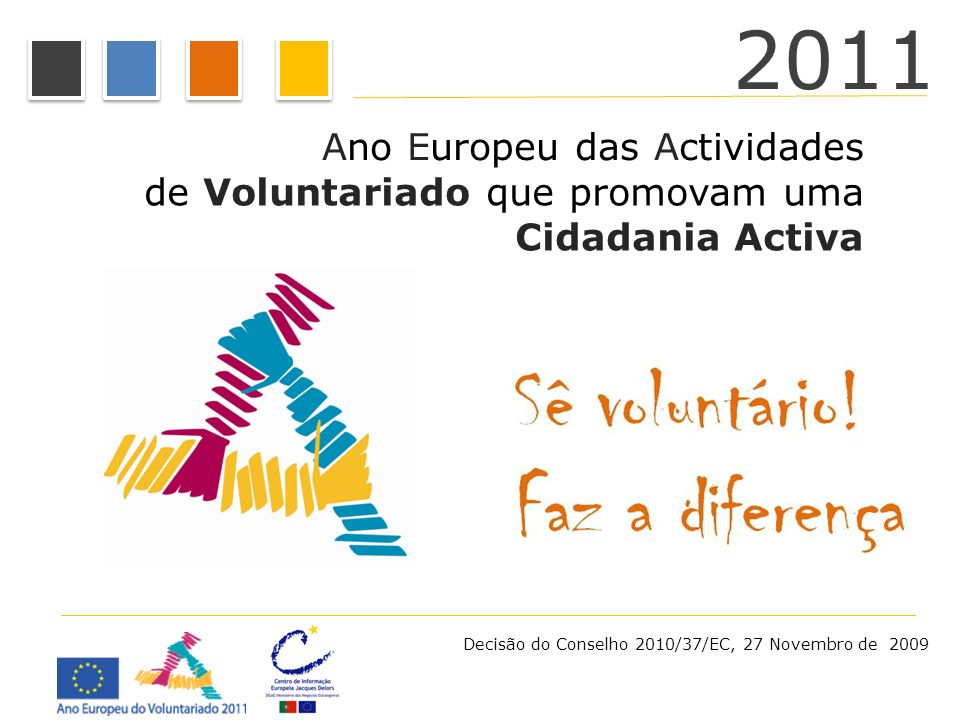 2011 Ano Europeu das Actividades