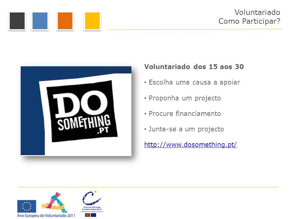 Como Participar Voluntariado Como Participar