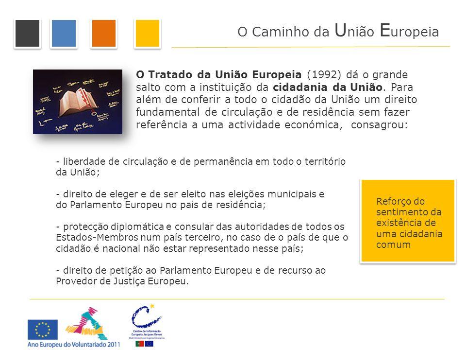 O Caminho da União Europeia