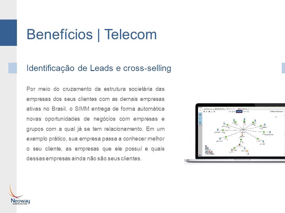 Benefícios | Telecom Identificação de Leads e cross-selling