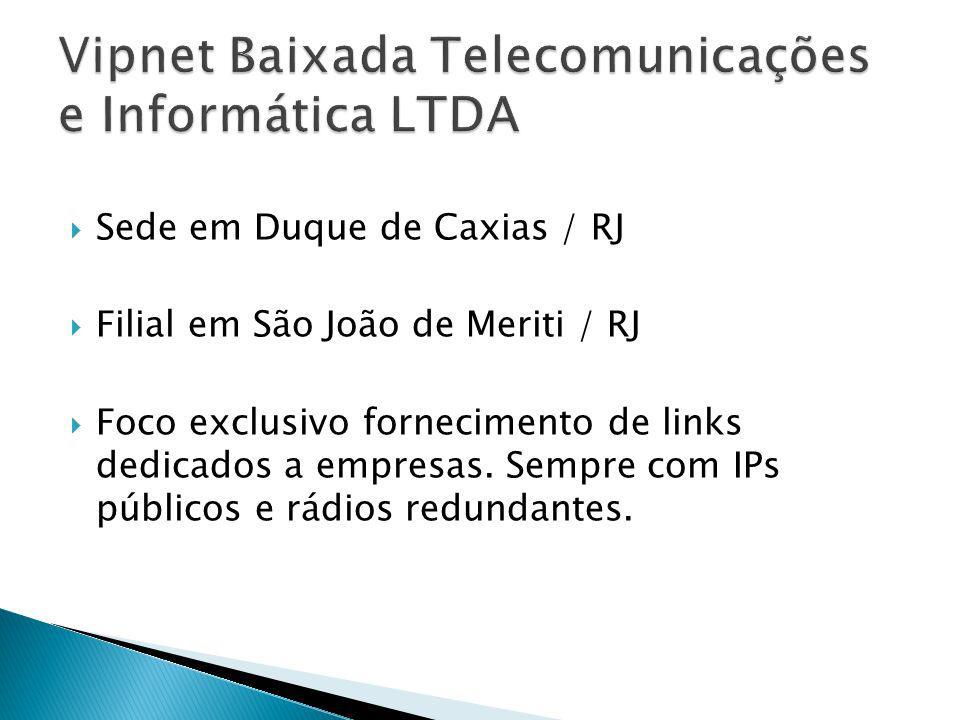 Vipnet Baixada Telecomunicações e Informática LTDA