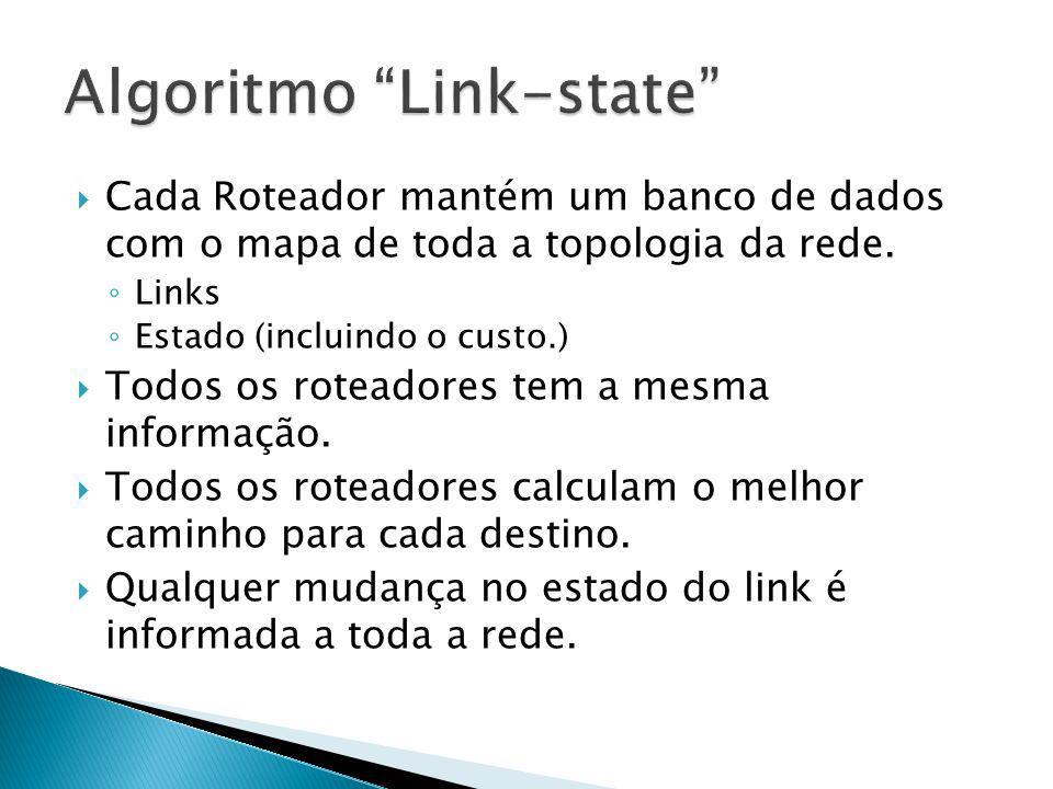 Algoritmo Link-state