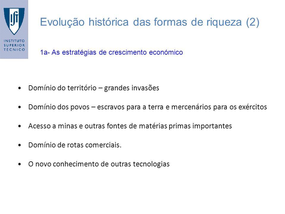 Evolução histórica das formas de riqueza (2)