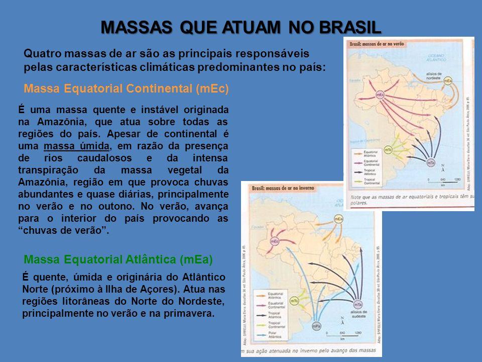 MASSAS QUE ATUAM NO BRASIL