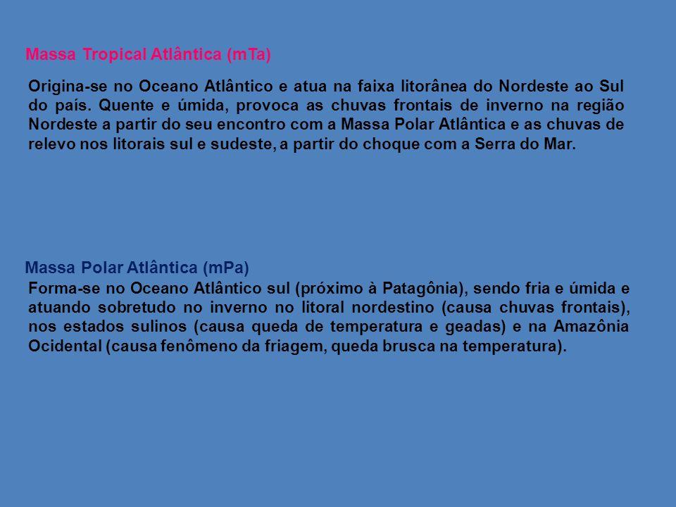 Massa Tropical Atlântica (mTa)